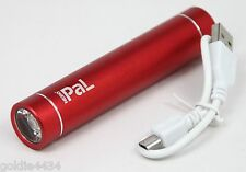 Nebo Power and Light PAL - RED - Mini LED Flashlight w USB Power Bank 6227