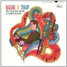 VARIOUS/BOOK A TRIP - THE PSYCH POP SOUNDS OF CAPITOL RECORDS  CD NEW!