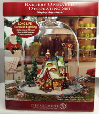 """New"" Dept 56 ""Mrs. Claus And Her Handmade Christmas Stockings"" ""Sealed"""
