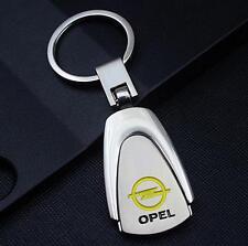 LG34 For Opel Car Logo Titanium Keyring Keychain Key Chain Ring Gift With Box