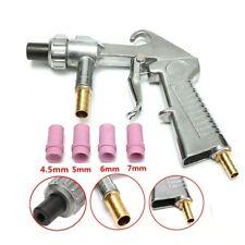 Sandblaster Abrasive Gun Air Siphon Feed Sand Blast Gun + 4pcs Ceramic Nozzles