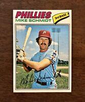 1977 Topps Mike Schmidt - Philadelphia Phillies #140