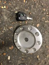 Peugeot 206 206cc Quicksilver Metal ORIGINAL Petrol Cap With Key