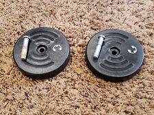 Hoover Steamvac SpinScrub Model F5915-900 Carpet Cleaner 2 Wheels C-Clips