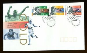 1996 Australia Olympic & Paralympic Games FDC. Sydney first day cover. 1627-1629