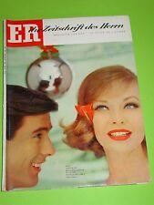 ER - DIE ZEITSCHRIFT DES HERRN  - NR. 1 vom JANUAR 1961 / MODE - FILM - KUNST