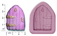 FAIRY / CASTLE DOOR Small Craft Sugarcraft Fimo Sculpey Silicone Rubber Mould