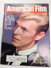 American Film Magazine David Bowie Realm Of Oshima September 1983 040617nonr