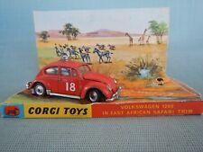 CORGI Toys Volkswagen 1200 East African Safari No. 256 & Original Box