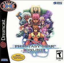 Phantasy Star Online (Sega Dreamcast, 2001) - Japanese Version