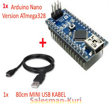 Verlötet Nano Version 3.0 ATMEGA328P CH340 USB Mikrocontroller mit Arduino Boot