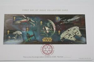 STAR WARS FIRST DAY OF ISSUE COLLECTOR CARD SCARCE LIMITED EDITION B29 CVER6