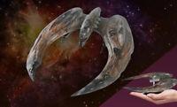Battlestar Galactica 2004 SCAR Cylon Raider Ship #16 & Magazine By Eaglemoss
