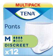 TENA Pants Discreet - Medium - 8 Packs of 12 Incontinence Pants - 1100ml