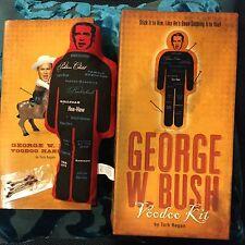 GEORGE BUSH VOO DOO Doll Election Politics RARE New In Box Republican Democrat