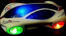 BOYS/CHILDREN MUSICAL RACING CAR  TOY 3D SPECIAL LIGHTS  BIRTHDAY XMAS GIFT