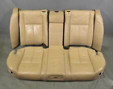 BMW E38 7-Series 750iL Rear Power Comfort Electric Seats Sand Beige Leather Heat