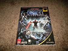Star Wars The Force Unleashed Strategy Guide Book L@@k Rare