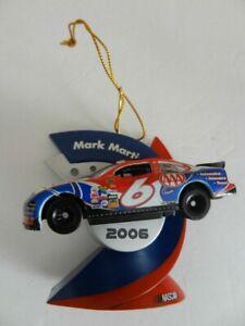 2006 Nascar Collectible Ornament #6 Mark Martin