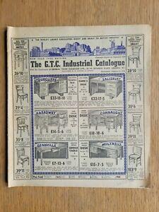 Vintage Furniture/Shop Catalogue 1950's - G.T.C. Industrial Catalogue 1956