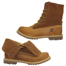 Timberland Authentics Roll Top Boots Ankle Boots Lace up Boots 8307A