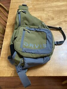 Orvis Safe Passage Sling Pack - Olive/gray