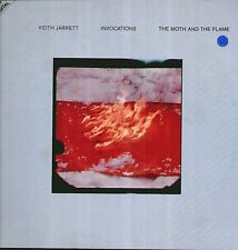 """KEITH JARRETT """" INVOCATIONS-THE MOTH AND THE FLAME """" 2 LP  NUOVO   UNPLAYED RARO"""