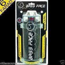 BASS FACE CAP6.1 CONDENSATORE 6 FARAD + Viecar OBDII DIAGNOSI AUTO Bluetooth