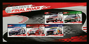 Australia 2021: Holden's Final Roar - Minisheet - Mint Never Hinged