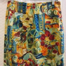Beautiful RUFF HEWN Vintage Wrap Style Skirt Says sz 10 (NOW sz 4) BRIGHT COLORS