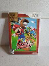 Mario super sluggers Nintendo Wii CIB tested working disc 8/10