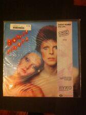 "RYKO DAVID BOWIE ""Pin ups "" LTD EDITION No. 2388 Clear Vinyl 1990 MINT SEALED"