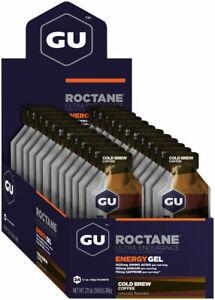 Roctane Gel - GU Roctane Energy Gel: Cold Brew Coffee, Box of 24 - Gel