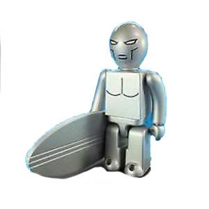 Medicom Toy - 100% Silver Surfer Kubrick (Marvel Super Heroes Series 1)