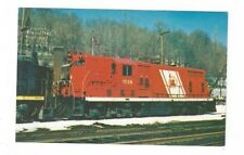 Vintage Railroad Train Post Card Jersey Central #1524
