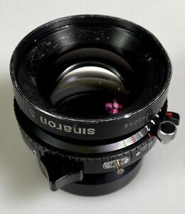 Rodenstock Sinaron-S 210mm f/5.6 large format lens Copal 1 Shutter