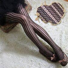 Women Black Sexy Fishnet Pattern Jacquard Stockings Pantyhose Tights