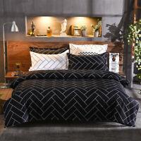 Queen/King/SuperKing Size Bed Duvet/Doona/Quilt Cover Set New Ar M331