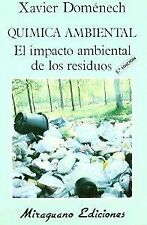 Environmental Chemistry environmental impact of waste, Expedited shipping (spain)