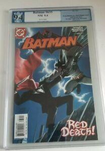 BATMAN #635 (2005) - PGX 9.4 - 1ST APPEARANCE OF THE RED HOOD!