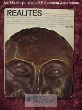 RÉALITÉS REALITES magazine December 1964 in French En Francais