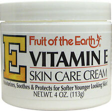 Fruit of the Earth Vitamin E Lotion - 4 oz Skin Care Cream