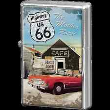 Accendino Zippo Repro Vintage Design Mod.  Highway 66 The Mother Road