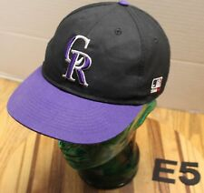 T17 NEW ERA 59Fifty Official MLB COLORADO ROCKIES Kids Baseball Cap 6 1//2