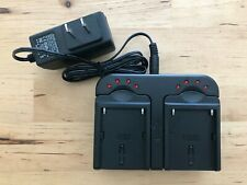 Dual Charger for Sony Camera F550 FM50 Batteries Centegix