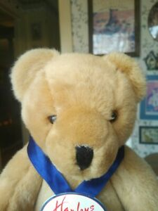 1990s Hamley's Toy Store Heritage Collection plush Teddy Bear 15in EUC