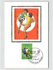 BELGIEN MK 1977 FUßBALL FOOTBALL SOCCER MAXIMUMKARTE MAXIMUM CARD MC CM d9343