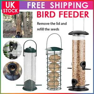 Outdoor Wild Bird Hanging Seed Feeder Peanut Feed Fat Ball Feeders Garden Birds