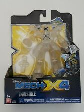 "Disney's Mech-X4 5"" Invisible Battle Robot with Drill New in Box Kids Toy Gift"