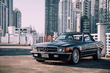 Mercedes SL W107 BRABUS spoiler r107 c107 bumper valance apron addon